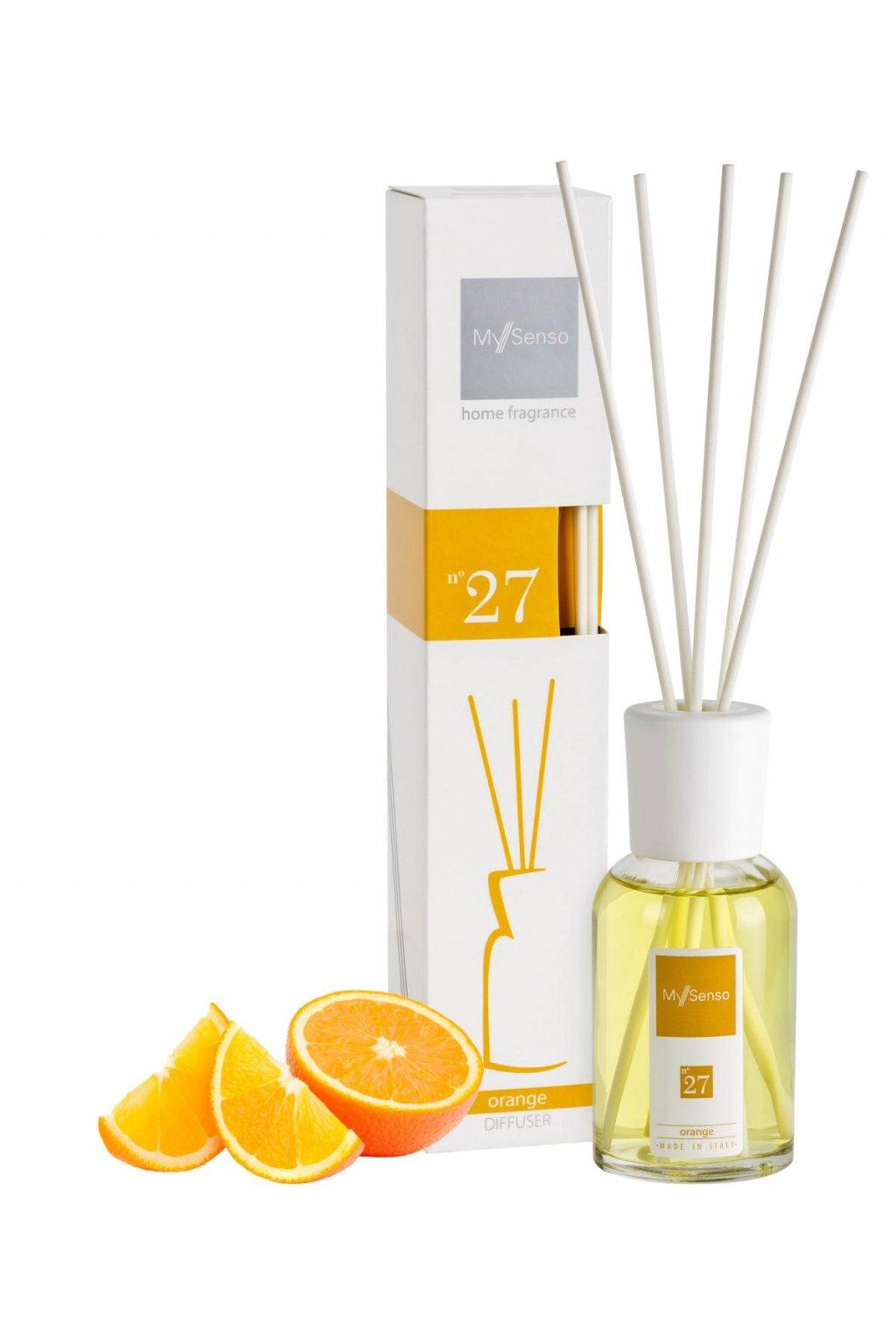 102 my senso aromaticky difuzer midi 100ml n 27 orange pomeranc