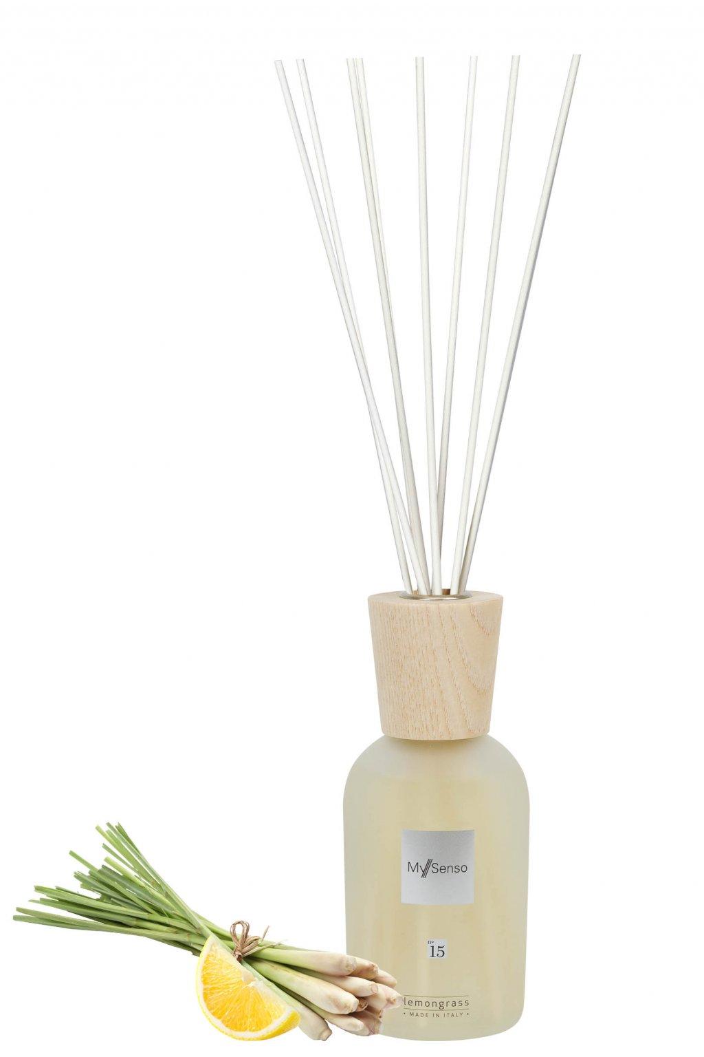123 my senso aromaticky difuzer premium n 15 lemongrass 240ml cerstvy citron