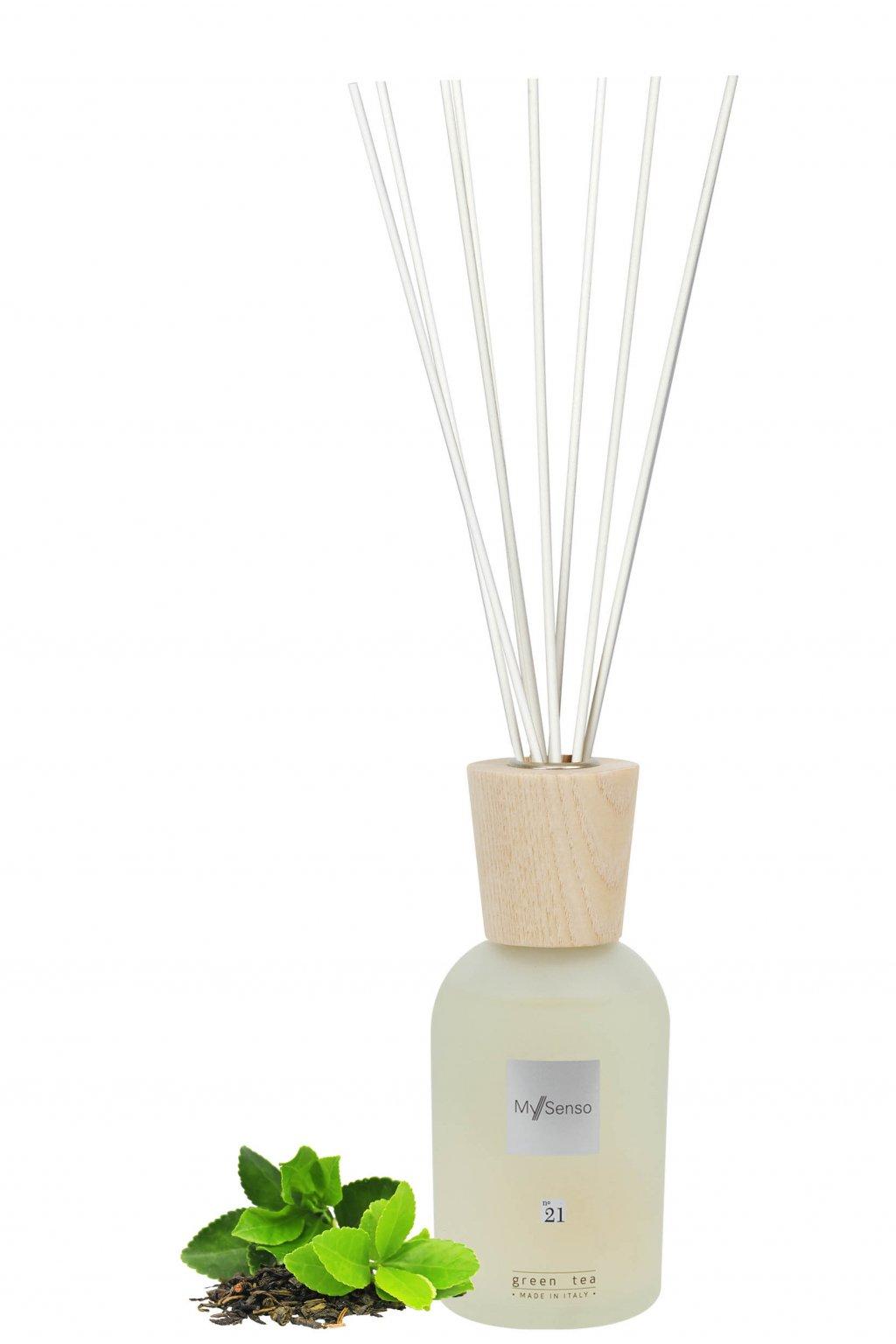 129 my senso aromaticky difuzer premium n 21 green tea 240ml zeleny caj