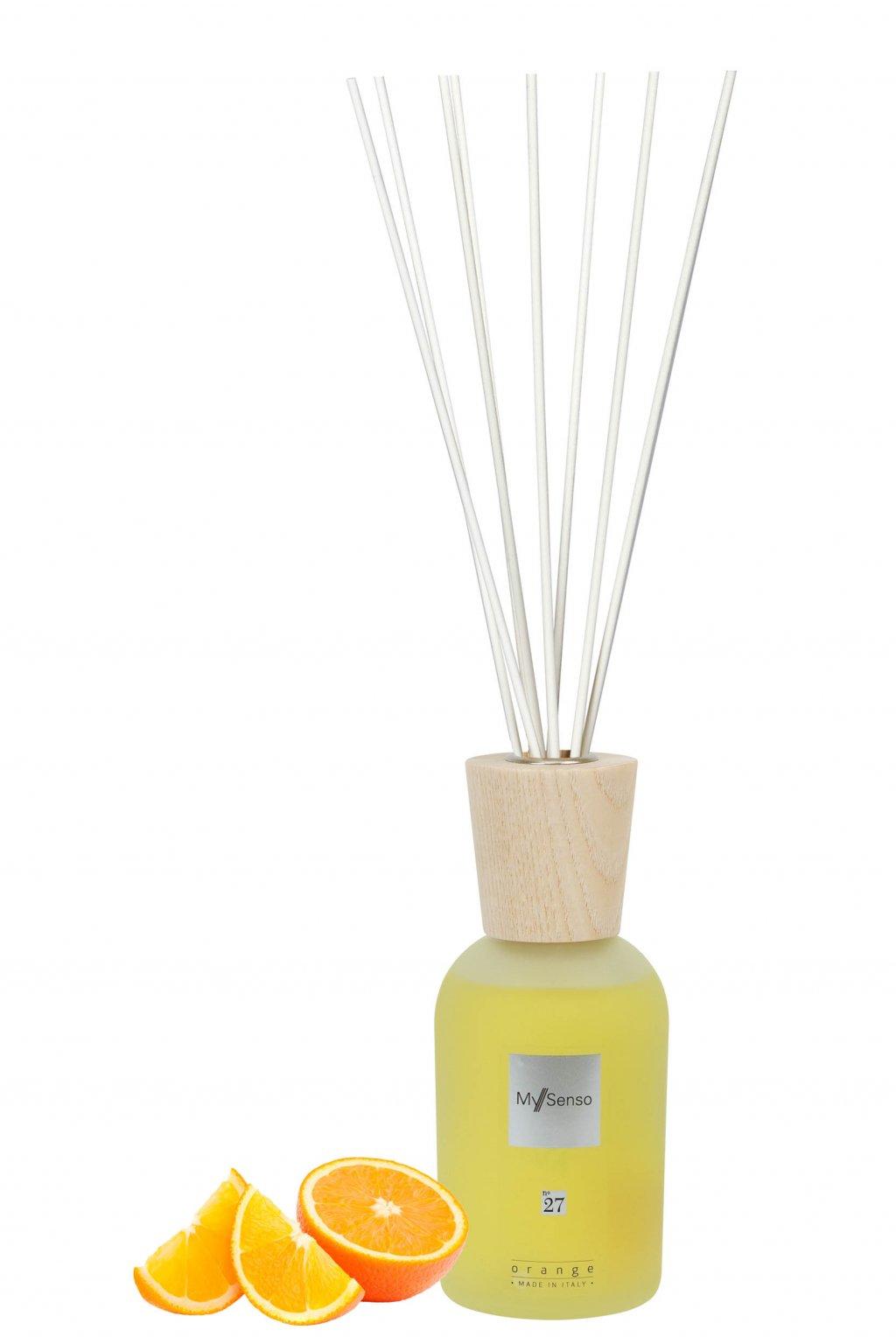 138 my senso aromaticky difuzer premium n 27 orange 240ml pomeranc