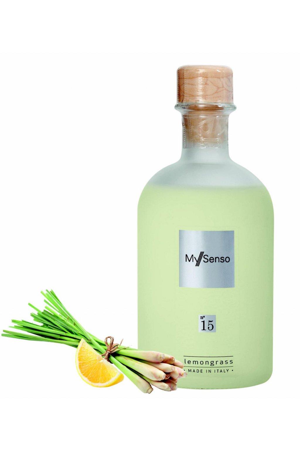 171 my senso nahradni napln pro aromaticky difuzer n 15 lemongrass cerstvy citron 240ml