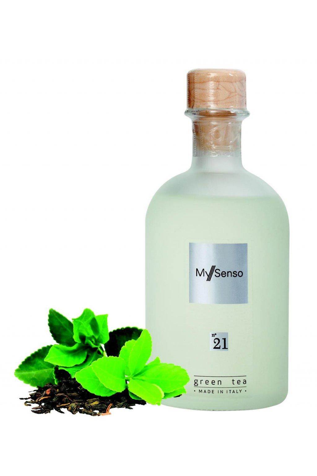 177 my senso nahradni napln pro aromaticky difuzer n 21 green tea zeleny caj 240ml