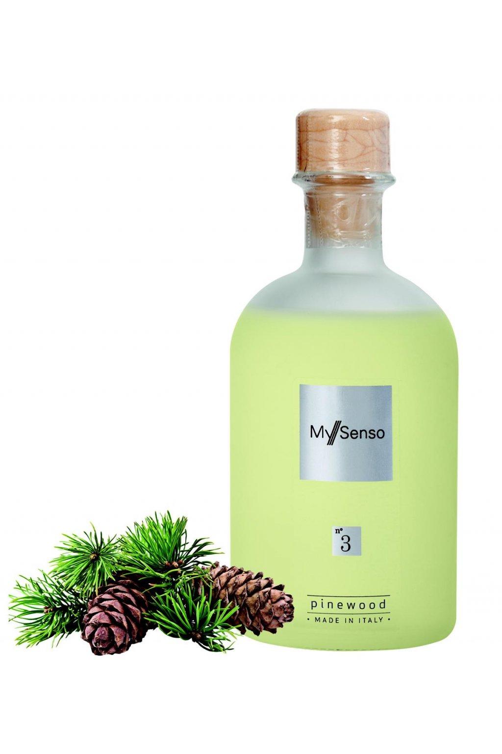 156 my senso nahradni napln pro aromaticky difuzer n 3 pinewood borovice 240ml