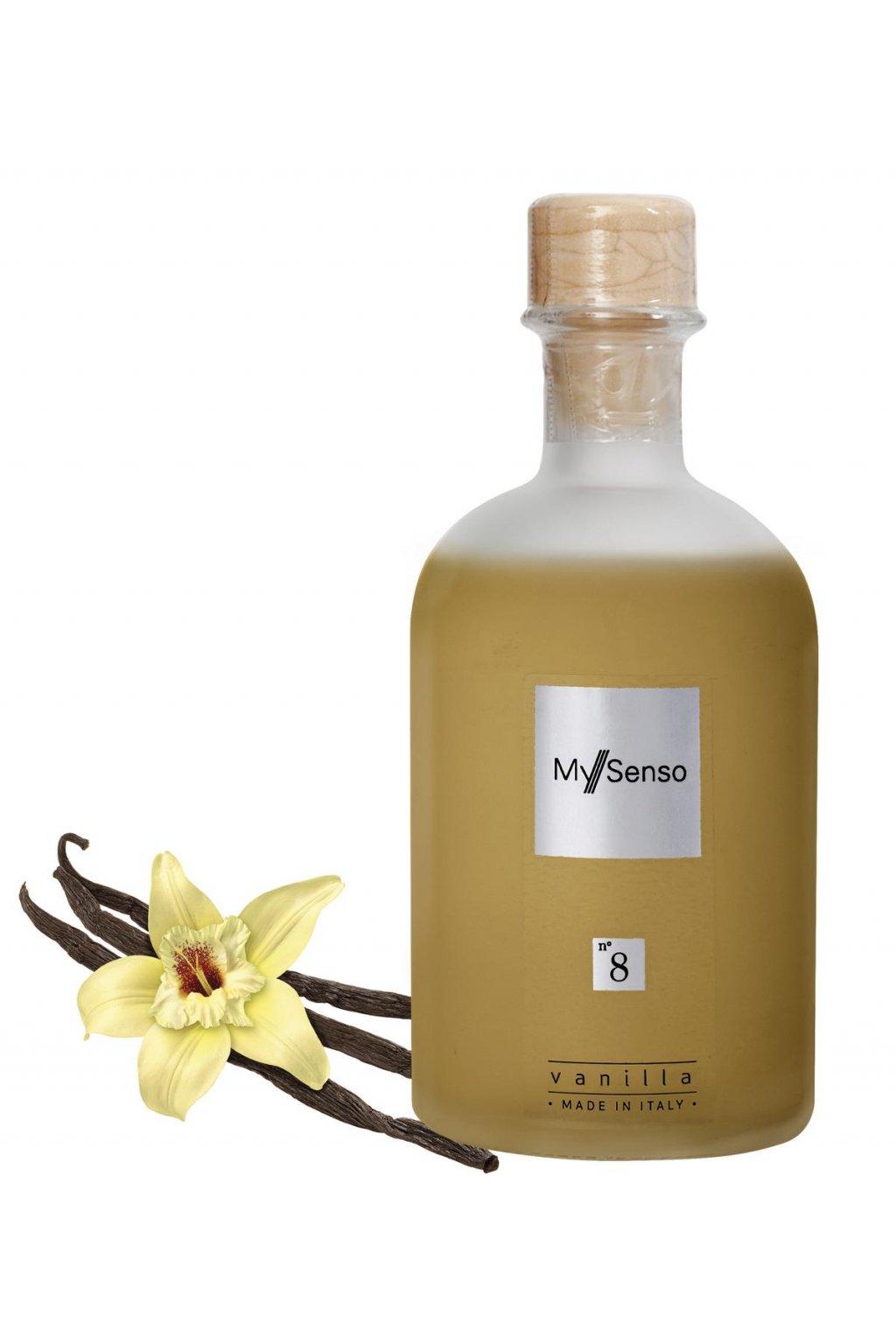 162 my senso nahradni napln pro aromaticky difuzer n 8 vanilla vanilka 240ml