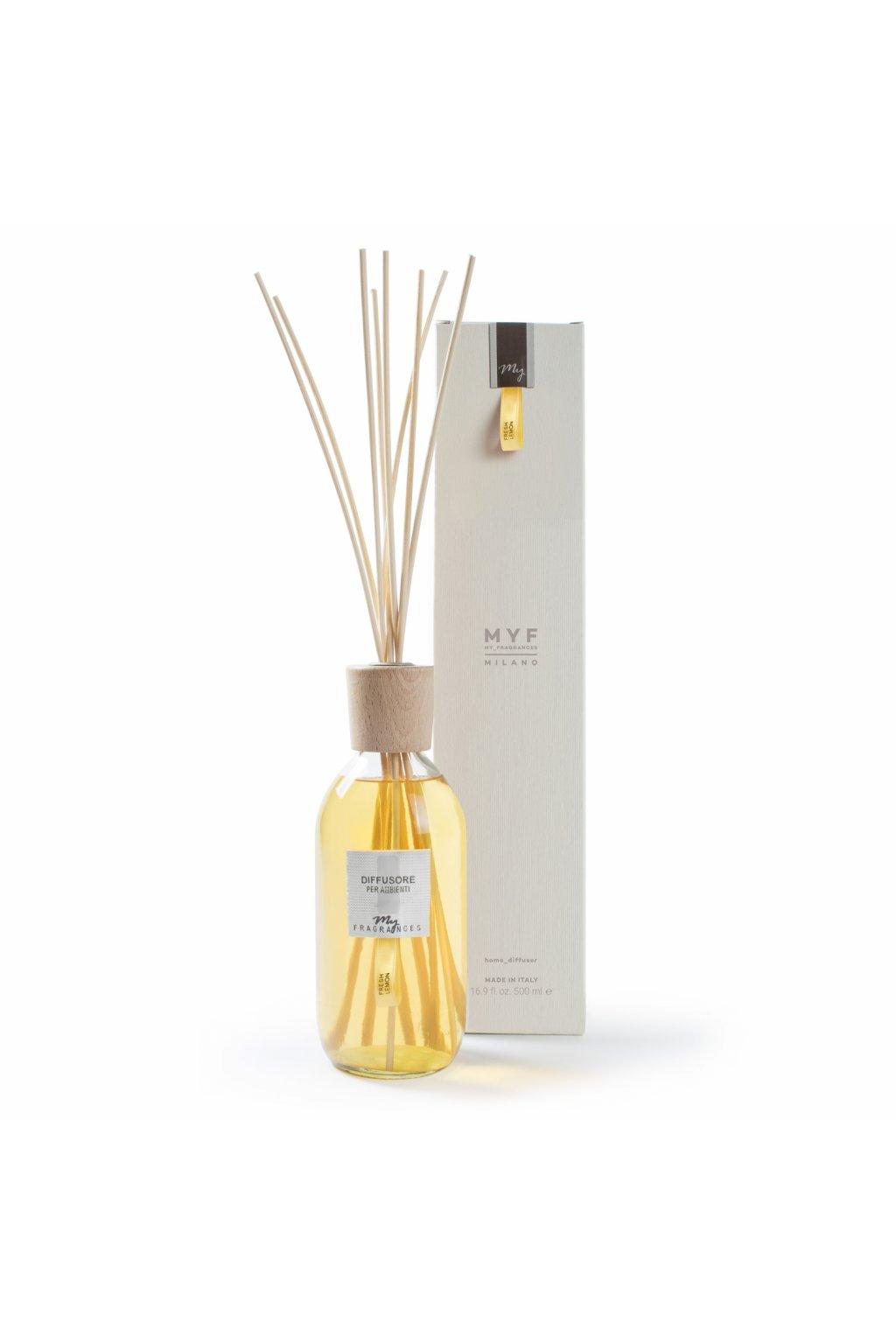 525 myf classic aroma difuzer fresh lemon citron sporys bergamot a jasmin 500ml