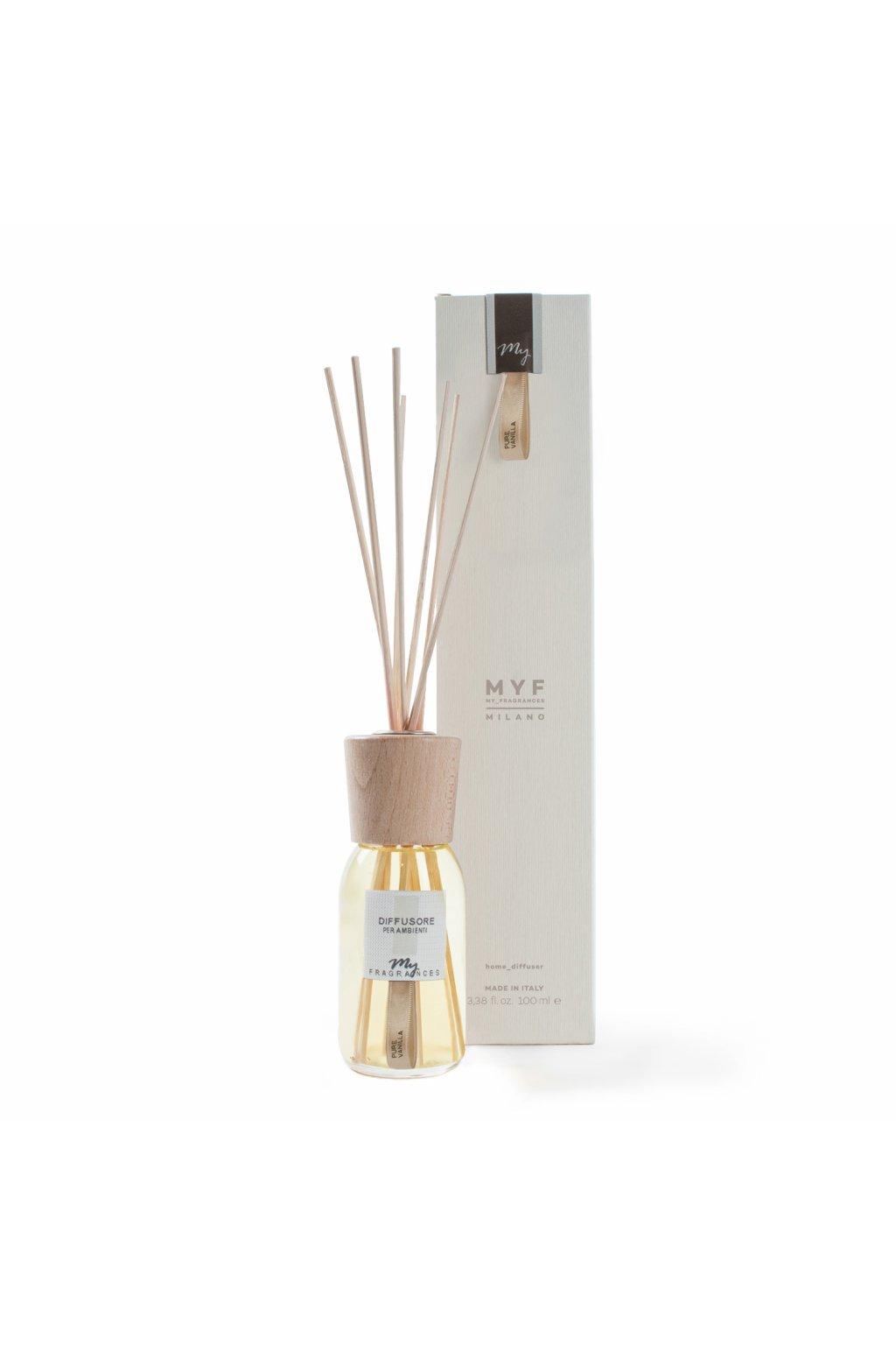 654 myf classic aroma difuzer pure vanila vanilka z madagaskaru 100ml
