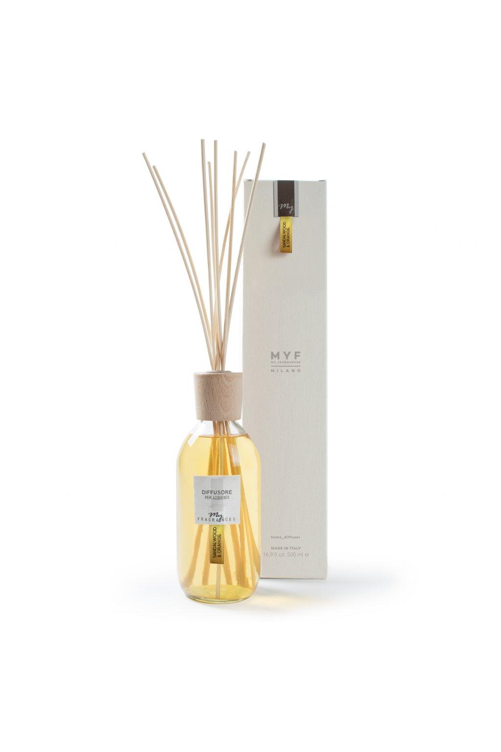 474 myf classic aroma difuzer sandalwood orange santalove drevo a pomeranc 500ml