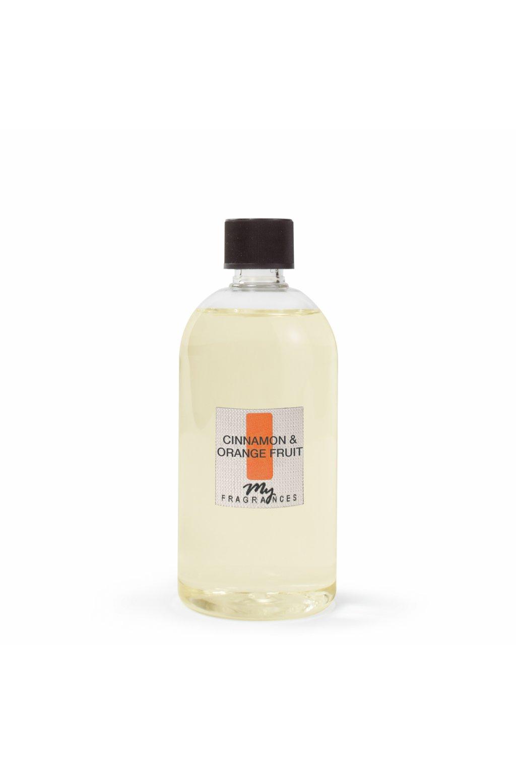 585 myf napln pro aromaticky difuzer cinnnamon orange fruit skorice a pomeranc 500ml