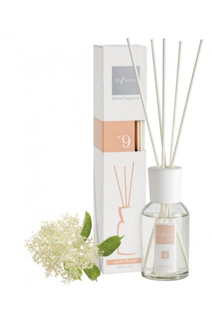 81 my senso aromaticky difuzer 100ml n 9 white flower cerny bez