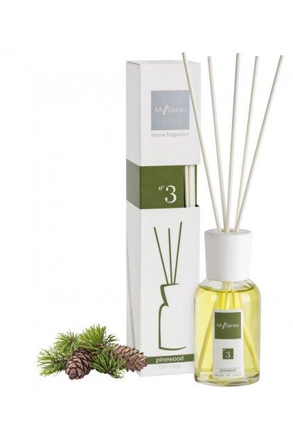 72 my senso aromaticky difuzer midi 100ml n 3 pinewood borovice