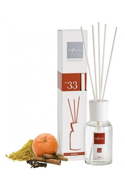 105 my senso aromaticky difuzer midi 100ml n 33 sultan santalove drevo a paculi