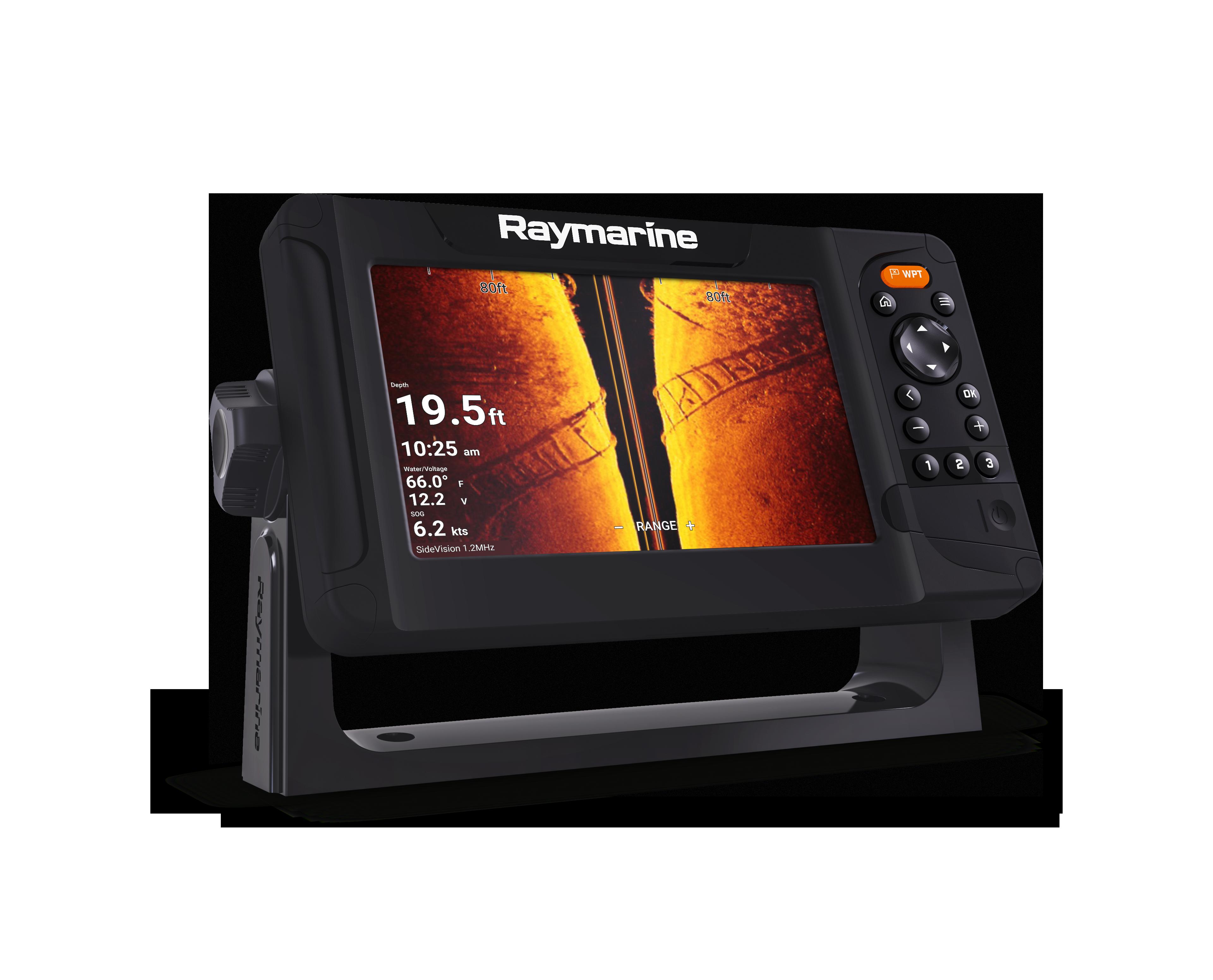 SONAR RAYMARINE ELEMENT 7 HV GPS / CHIRP / 3D