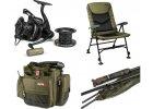 RCG - bivaky, lehátka, křesla, tašky, podběráky, přechovávací saky, podložky, pruty, navijáky