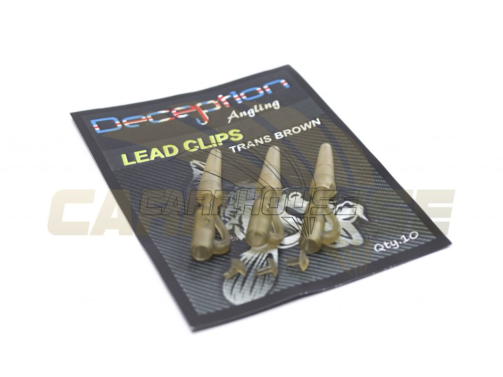 lead clips brown