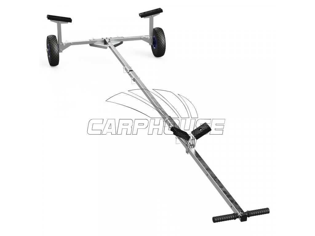 foldable launching trolley for inflatable boats dinghies suprod tr260 2