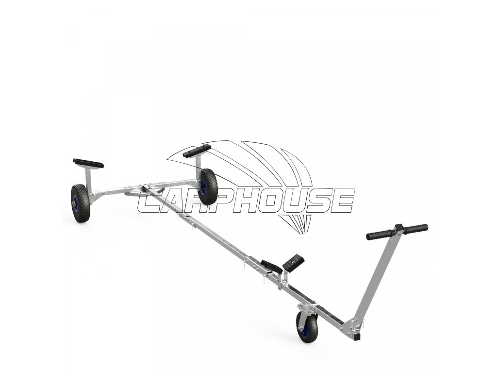 foldable launching trolley for inflatable boats dinghies suprod tr260 8