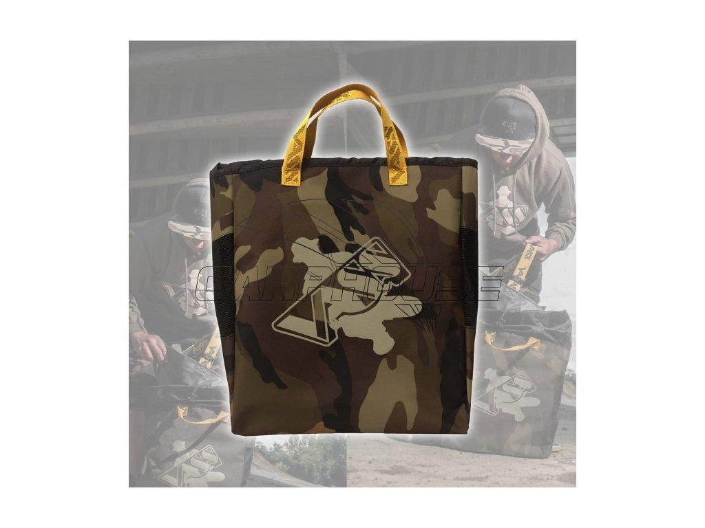 vass camouflage camo fishing wader bag
