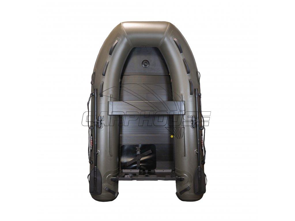 Člun Raptor X 270 Wide Air/Alu Green + polstrovaná taška na sedačku ZDARMA (Podlaha skládací hliníková)