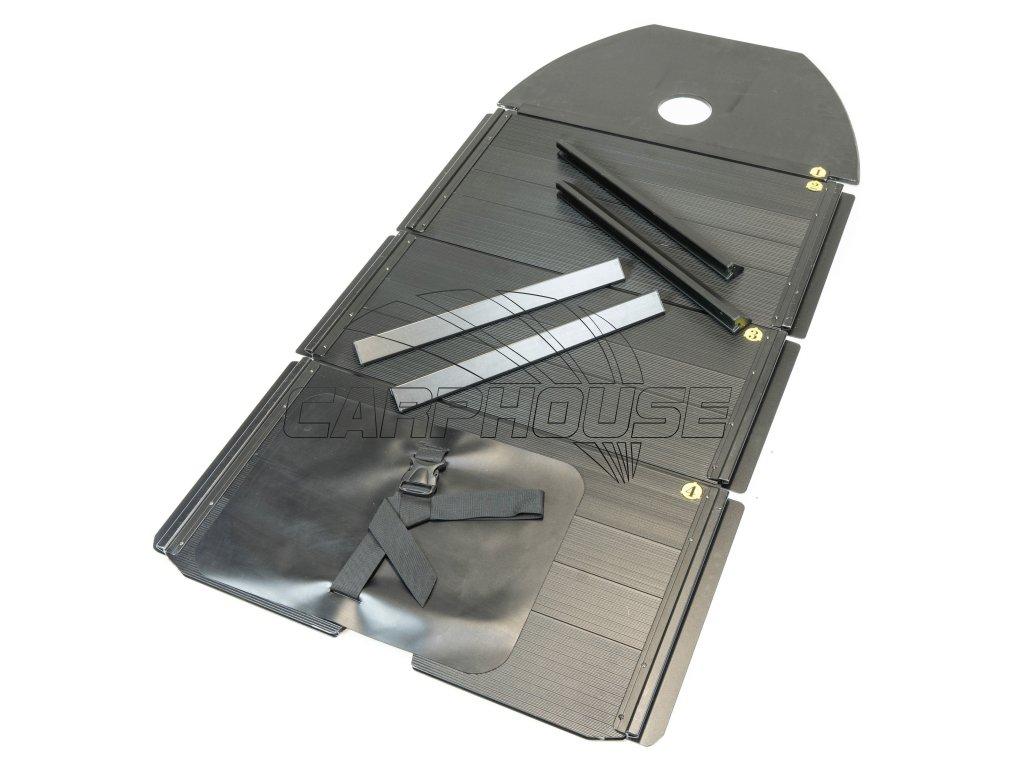 Člun Raptor X 330 Wide Air/Alu Green + polstrovaná taška na sedačku ZDARMA (Podlaha skládací hliníková)