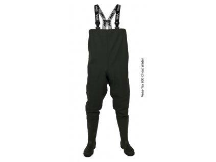 JUNIOR prsačky (brodící kalhoty) Vass-Tex 600 series (Velikost 36 / 3)