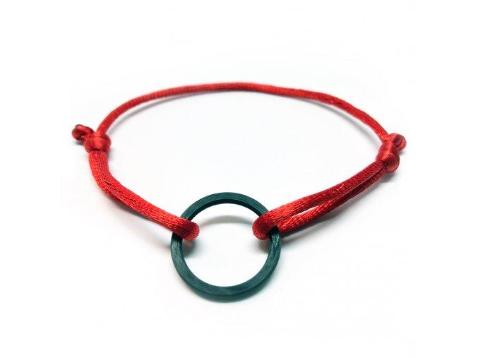 karbonovy cord naramek