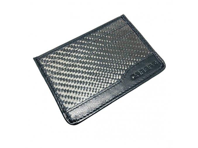 CARSPE RFID Karbónové puzdro na karty