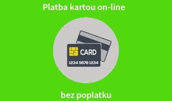 Platba kartou on-line