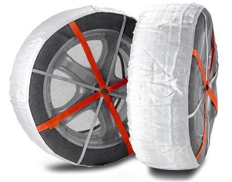 Textilní sněhové řetězy Autosock R15