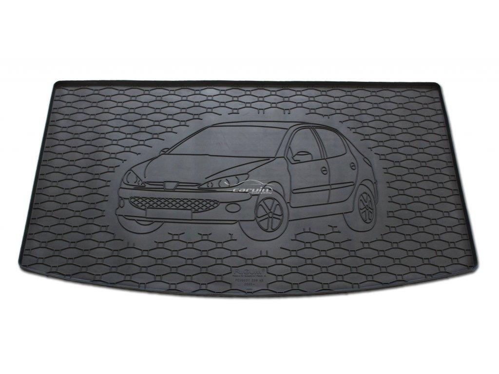 Vana do kufru gumová RIGUM Peugeot 206 hatchback 2000-