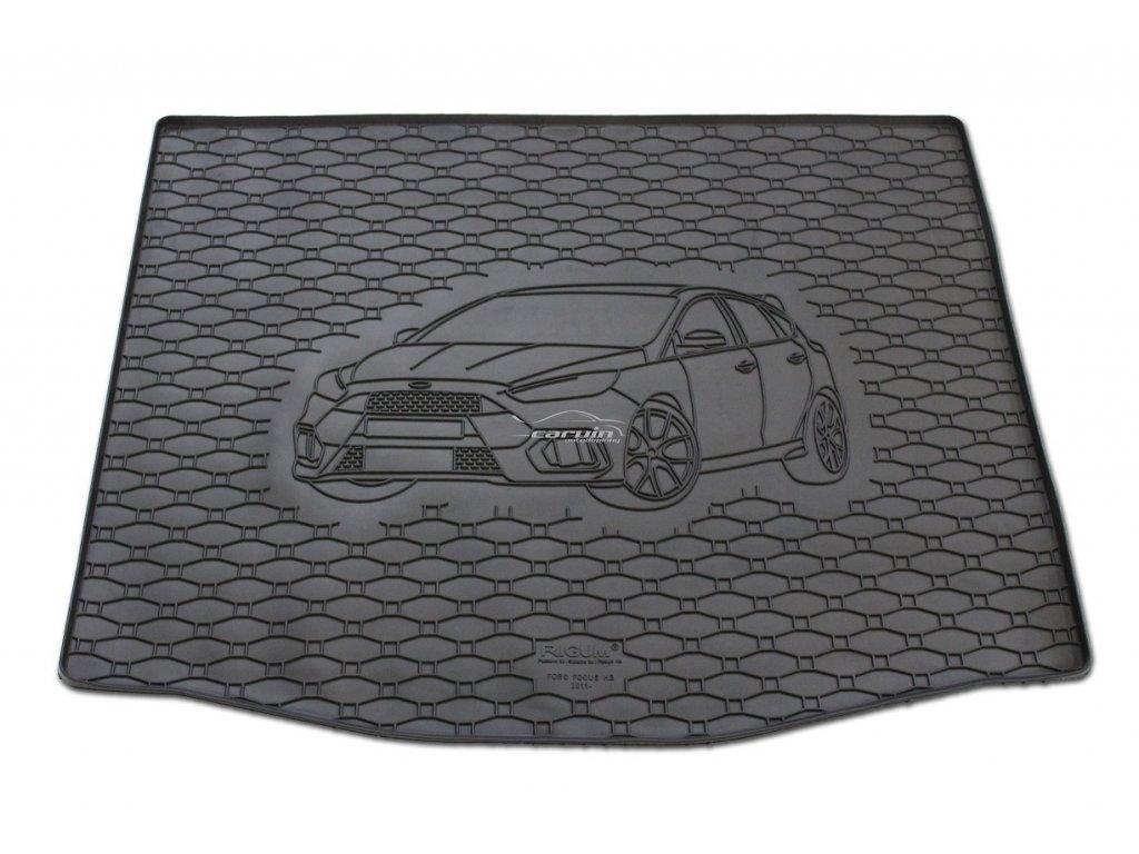 Vana do kufru gumová RIGUM Ford Focus hatchback s dojezdovým kolem 2011-