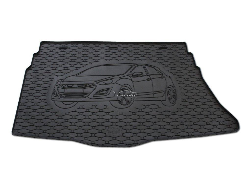 810226-Vana do kufru gumová RIGUM Hyundai i30 hatchback 2012-