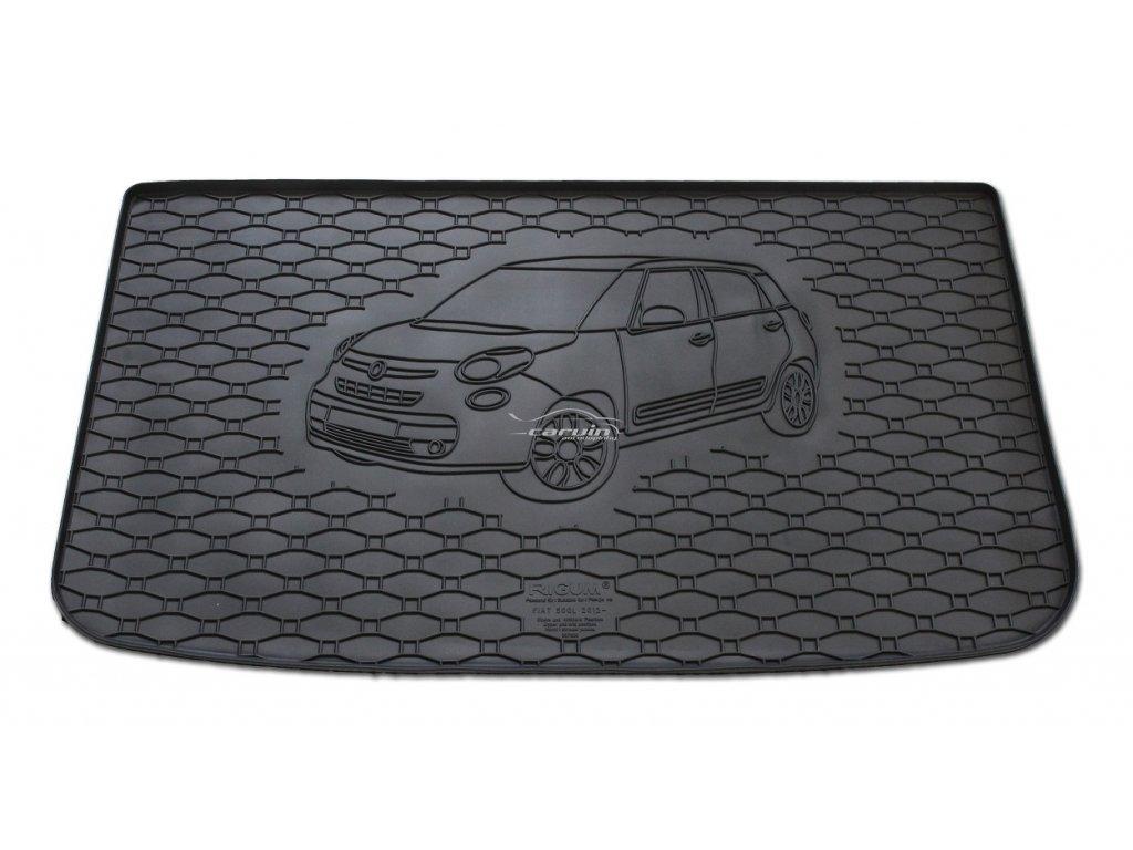 807066-Vana do kufru gumová RIGUM Fiat 500L horní i střední poloha 2012-