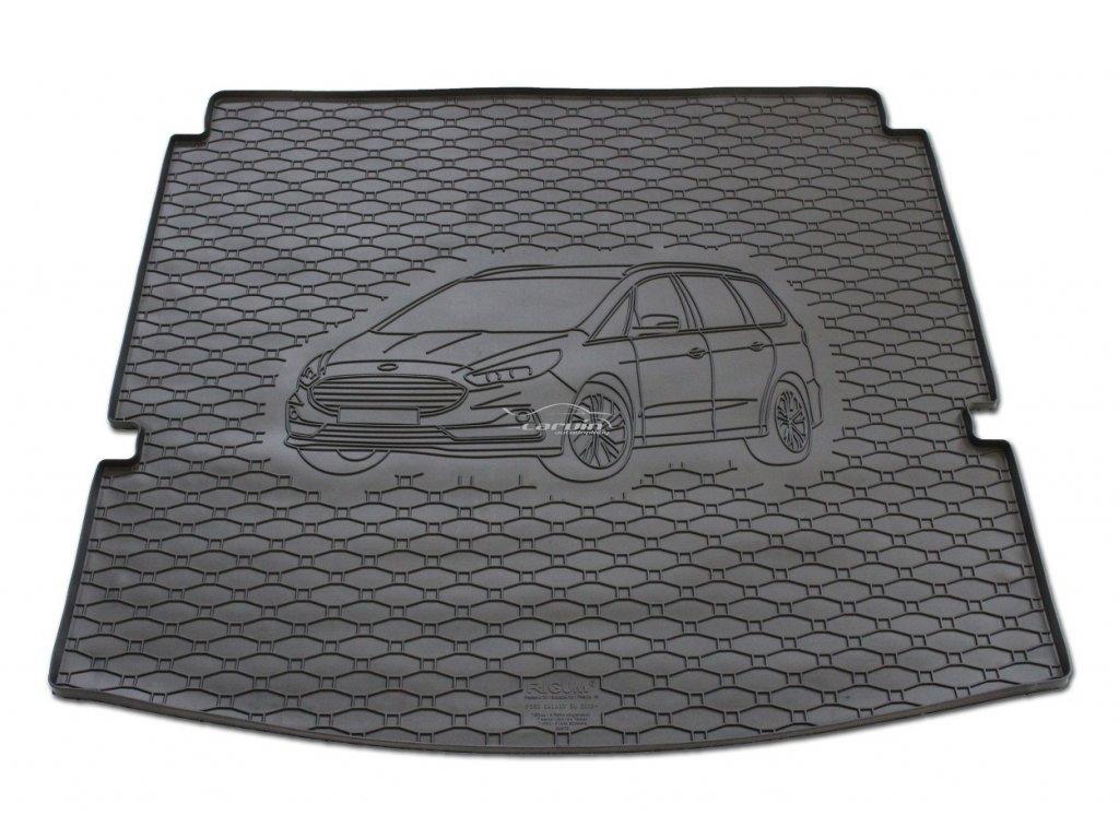 808179-Vana do kufru gumová RIGUM Ford Galaxy 5/7 místné (3. řada sedadel schovaná) 2015-