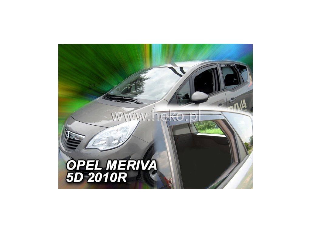 Ofuky oken Heko Opel Meriva 5D 2010- přední + zadní