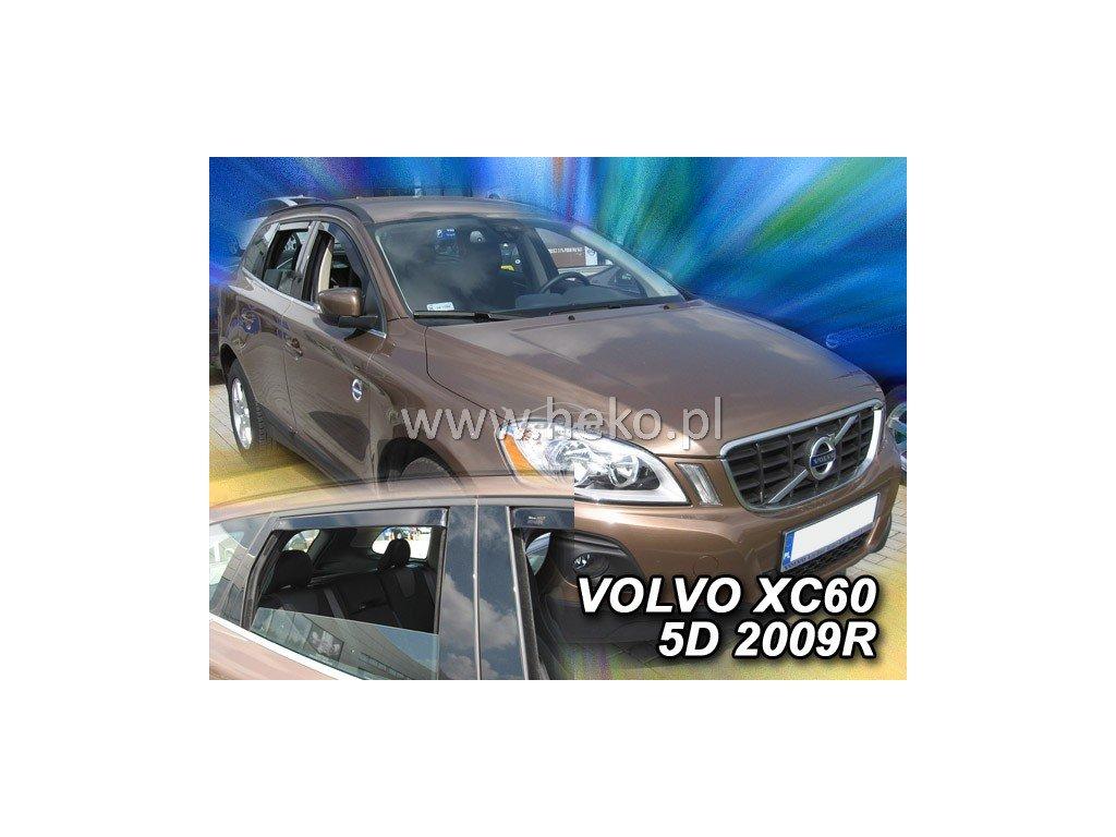 Ofuky oken Heko Volvo XC60 5D 2008- přední + zadní