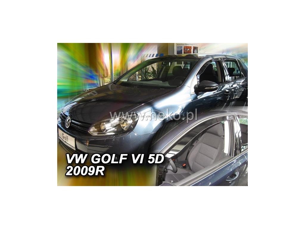 Ofuky oken Heko Volkswagen Golf VI 5D 2008- přední
