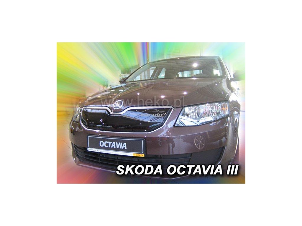 Zimní clona Heko Škoda Octavia III 2013- horní