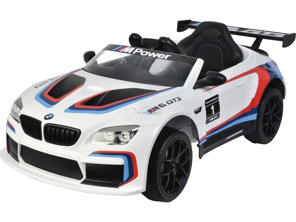 Elektické auto BMW M6 GT3 BUDDY TOYS