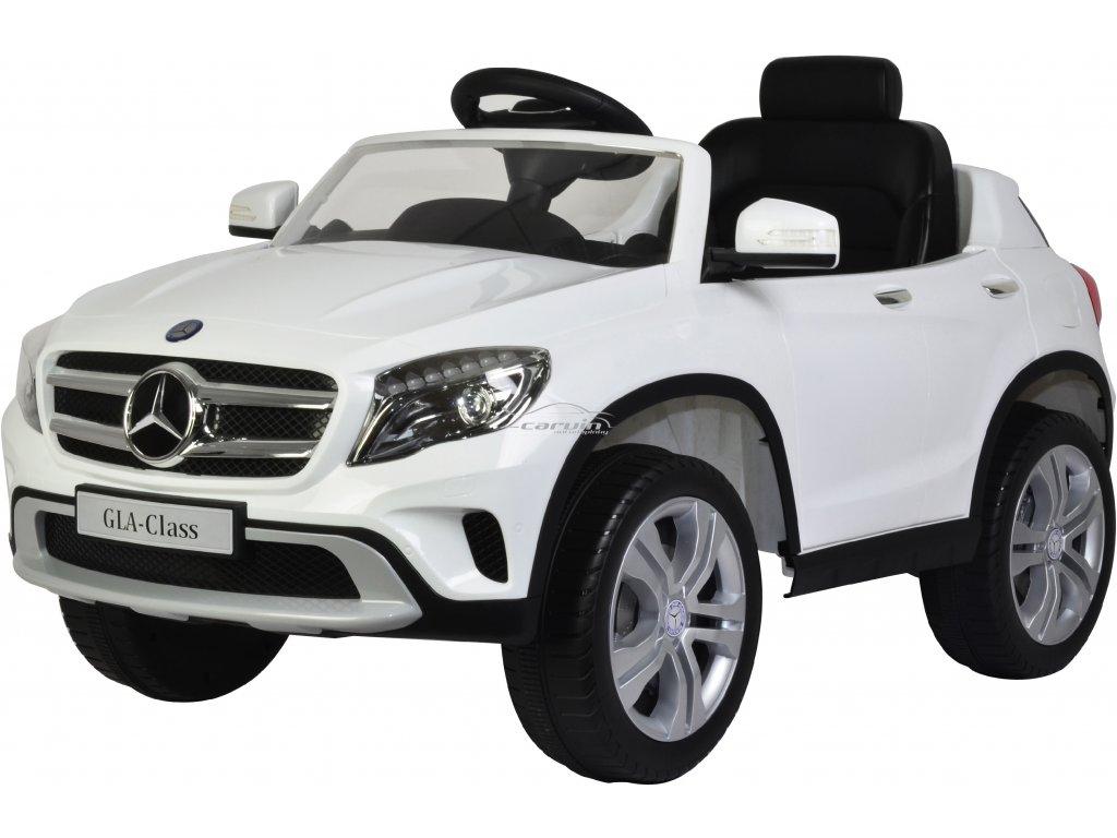 Elektické auto Mercedes GLA BUDDY TOYS bílé