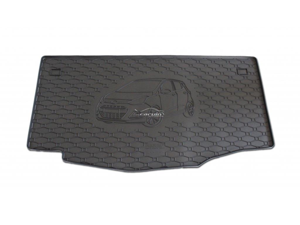 gumový koberec do kufru Hyundai i10 2014 810172