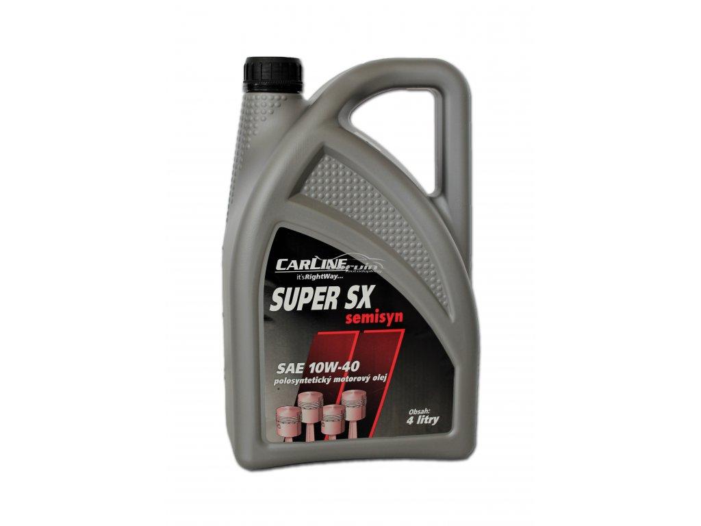 Motorový olej Carline Super SX 10W 40 4l CAR0412
