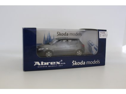 32.1. Abrex Škoda Fabia šedá 1.43