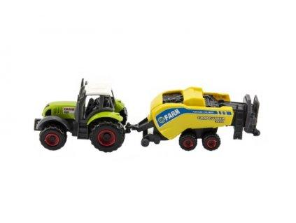 Sada traktorů - zemědělské stroje 1:87