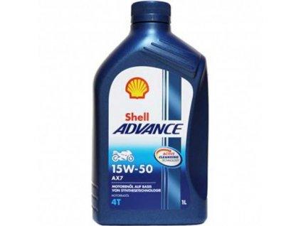 Shell Advance AX7 15W50