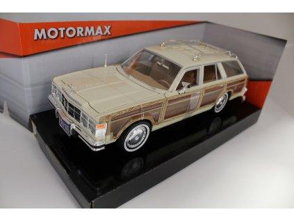 Model auta Chrysler LeBaron Town&Country 1979 1:24 Motormax