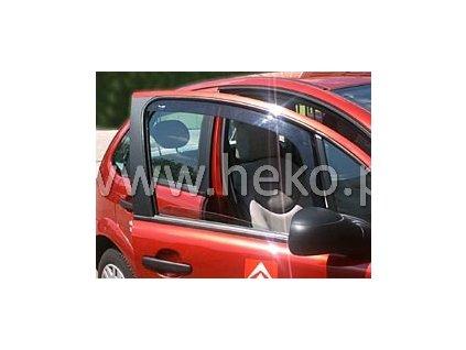 Ofuky oken Heko Citroen C3 5D 2002- přední
