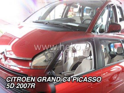 Ofuky oken Heko Citroen C4 Grand Picasso 5D 2007- přední + zadní