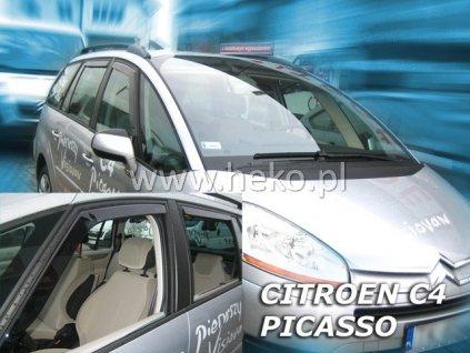 Ofuky oken Heko Citroen C4 Picasso 5D 2006- přední + zadní