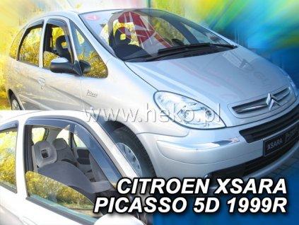 12222 Ofuky oken Citroen Xsara Picasso 5D 1999- přední