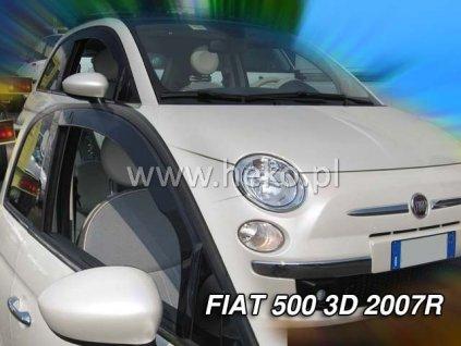Ofuky oken Heko Fiat 500 3D 2007- přední